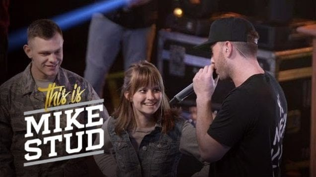 Onstage Military Homecoming Surprise | This Is Mike Stud | Esquire Network